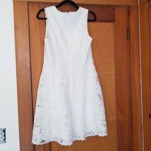 White House Black Market Dresses - WHBM 8 white bridal dress!